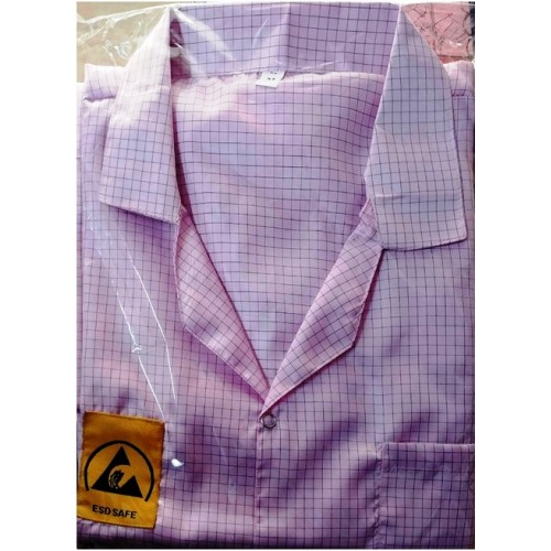ESD Apron -Pink