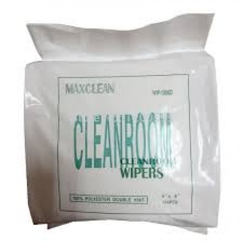 Cleanroom Wipers@ 100% polyester double knit