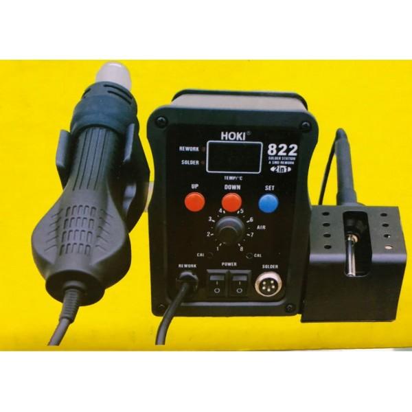 HOKI 822 DIGITAL SMD WITH SOLDERING IRON