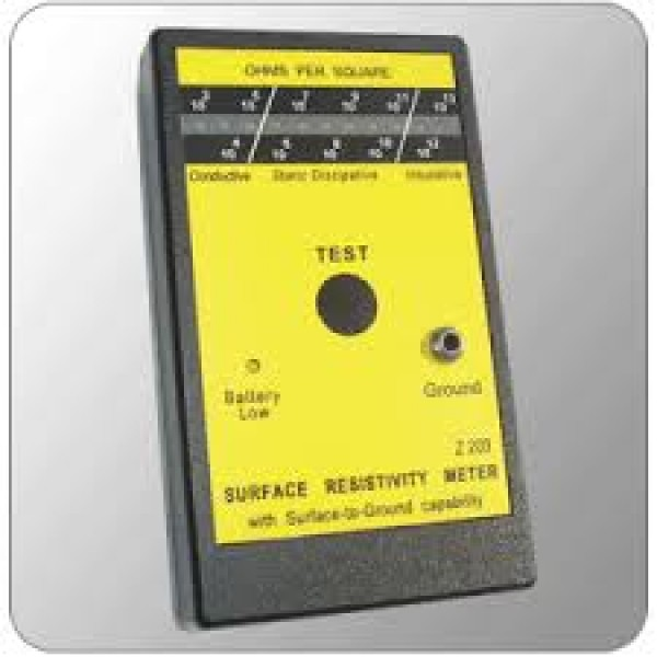Surface Resistivity Meter (SRM)
