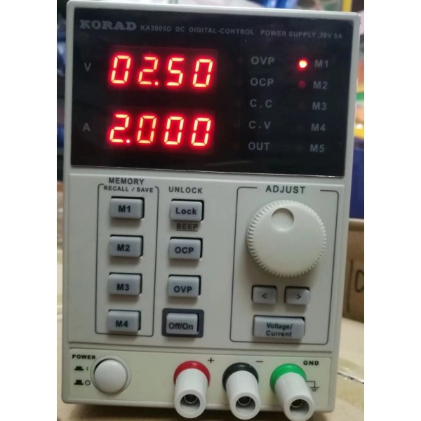 Digital -Control  & Programmable  power supply 5A / 30V